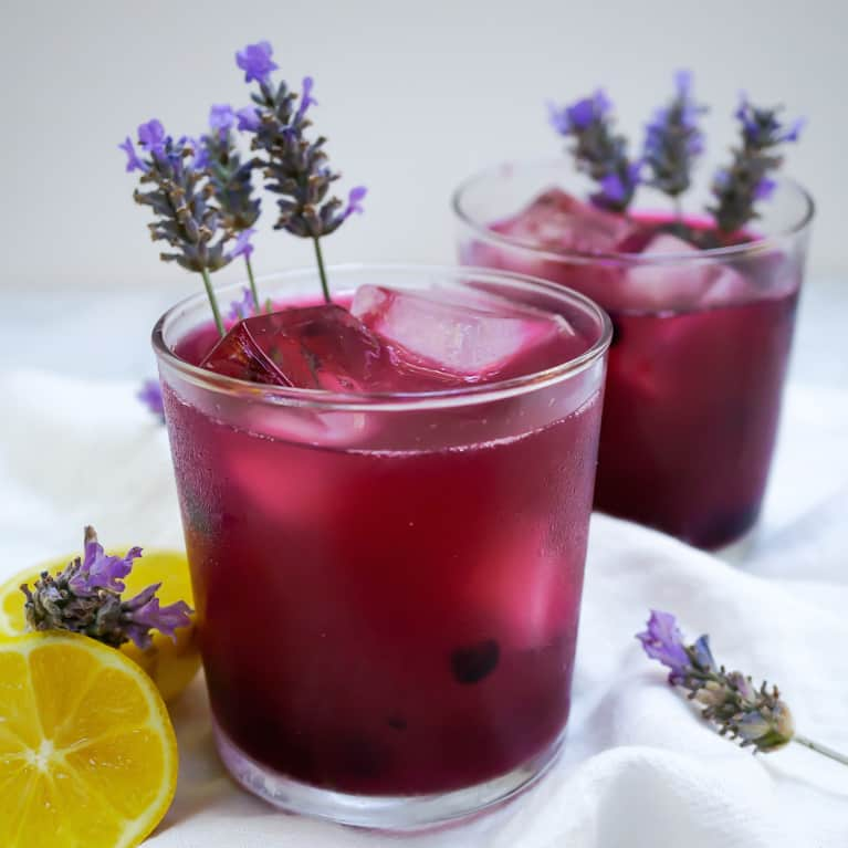 Summer's Not Quite Over Yet With This Blueberry + Lavender Lemonade