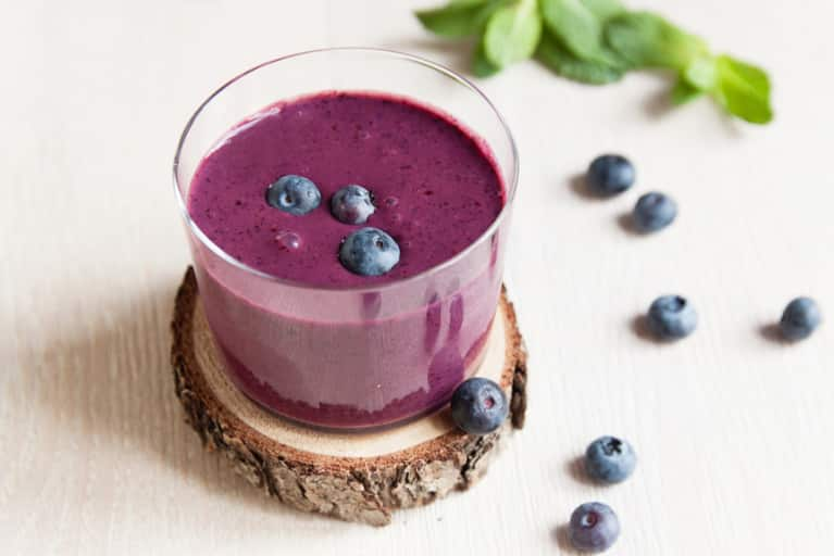 Big Day Ahead? Try This Brain-Boosting Blueberry Smoothie
