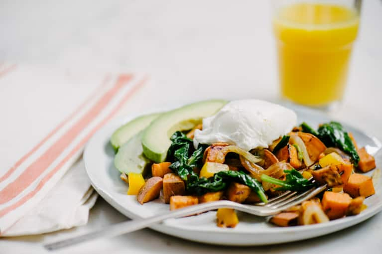 Breakfast For Dinner: Sweet Potato Vegetable Hash