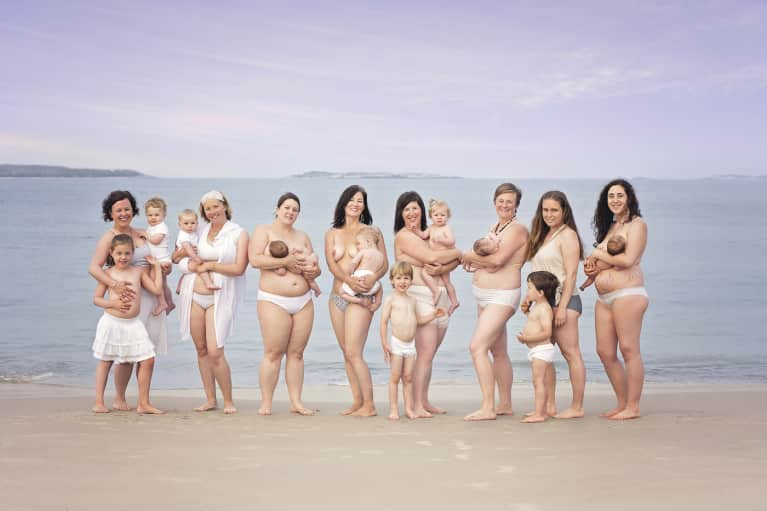 How 8 New Moms Learned To Love Their Bodies (Photo)