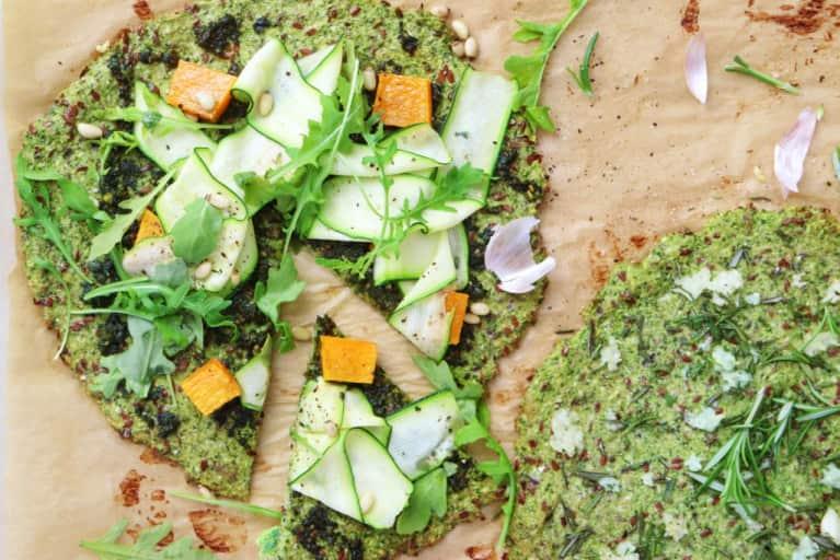 The Broccoli Flax Pizza Tastes Way Too Good To Be Healthy