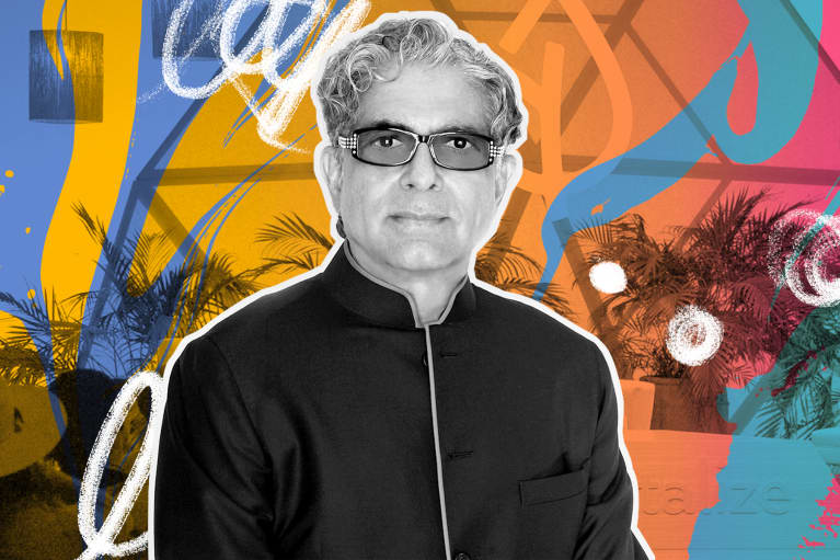 Deepak Chopra receives the mindbodygreen Lifetime Achievement Award