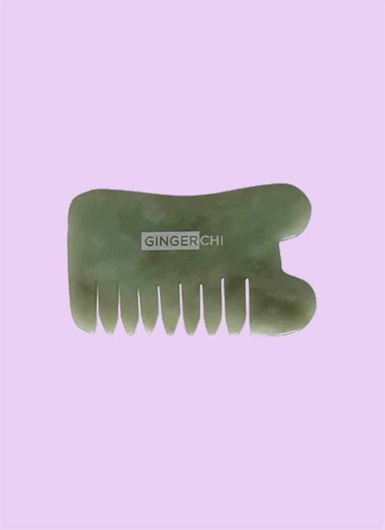 GingerChi Jade GuaSha Face Comb