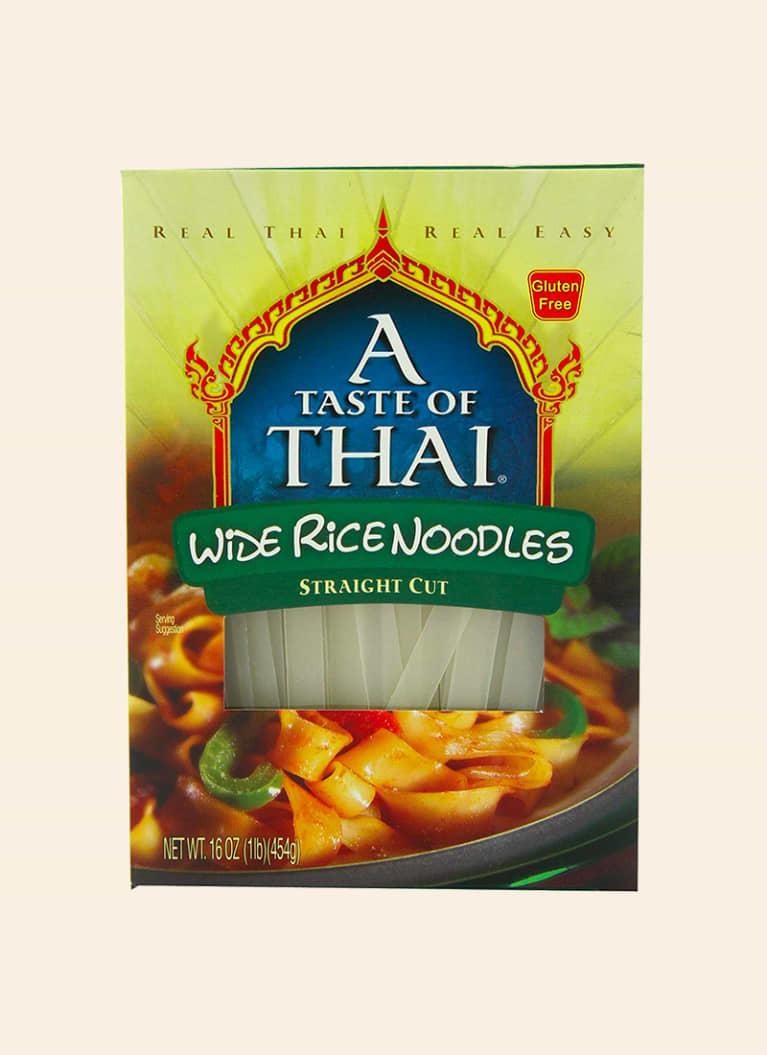 A Taste of Thai Wide Rice Noodles