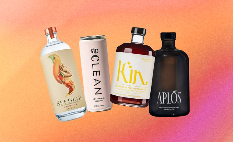 The 13 Best Alcohol-Free Drinks To Sip On For A Dry Holiday & Beyond