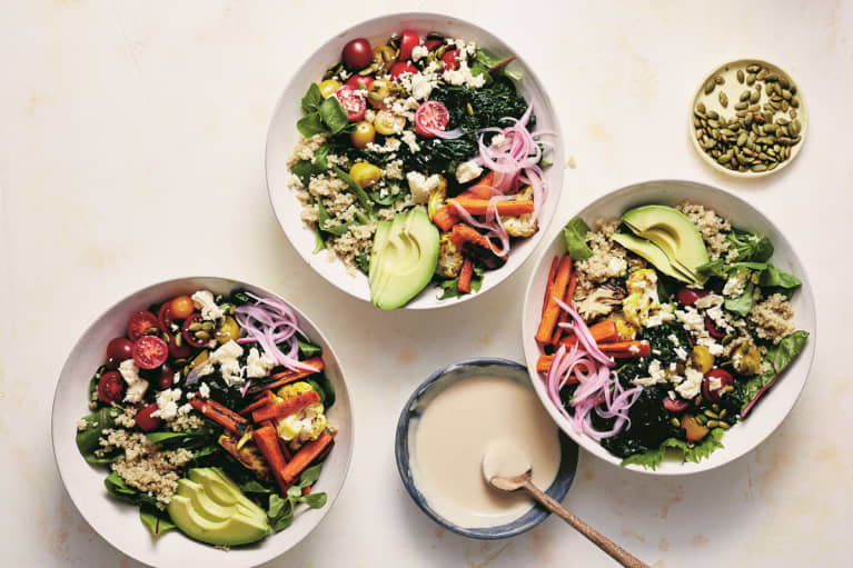 This Colorful Grain Bowl Is Superfood-Packed & Perfect For Lunch