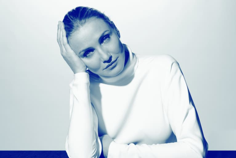 Cameron Diaz On Aging Well, Trusting Your Gut, And #Wellth