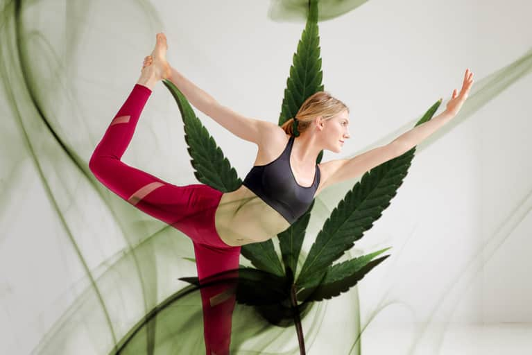 I Tried Ganja Yoga & Here's What Happened