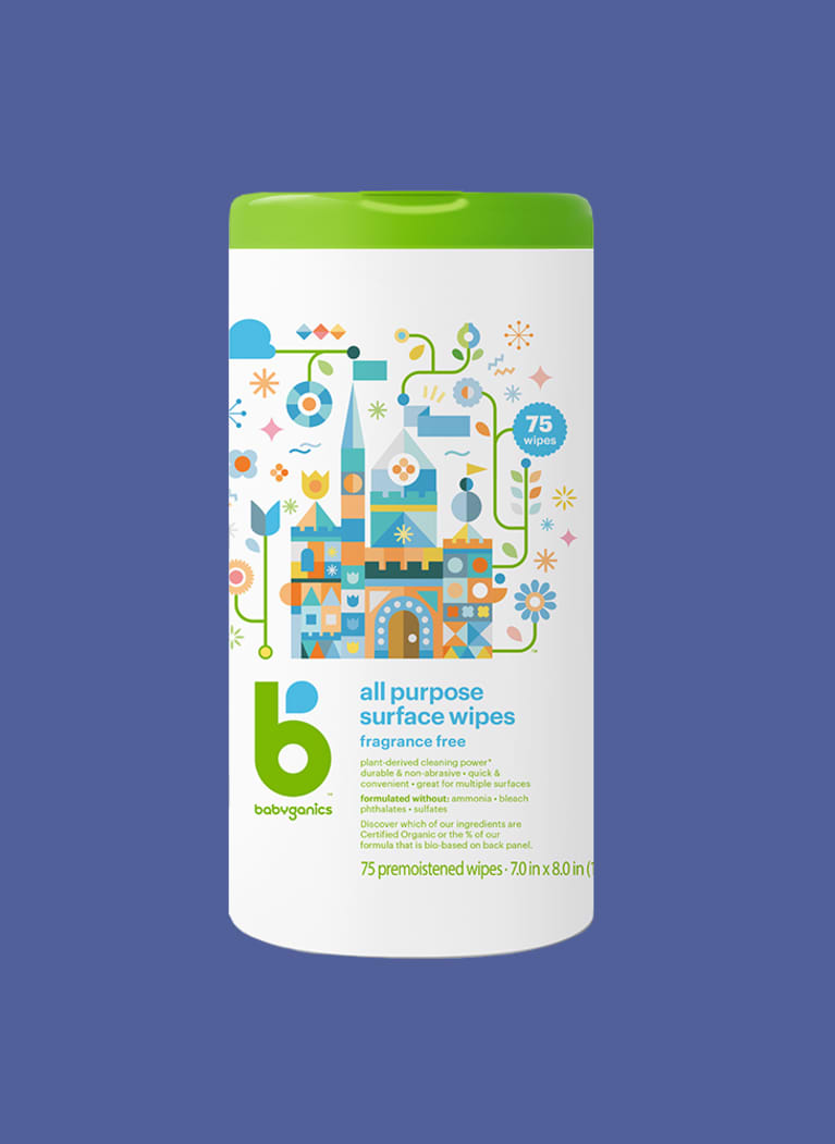 Babyganics natural cleaning wipes