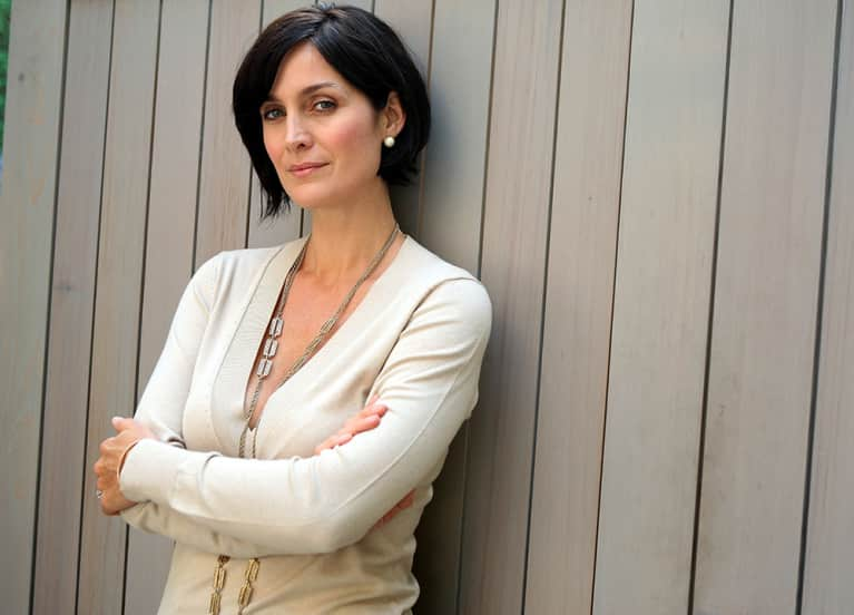Carrie-Anne Moss On Yoga, Passion, And #Wellth