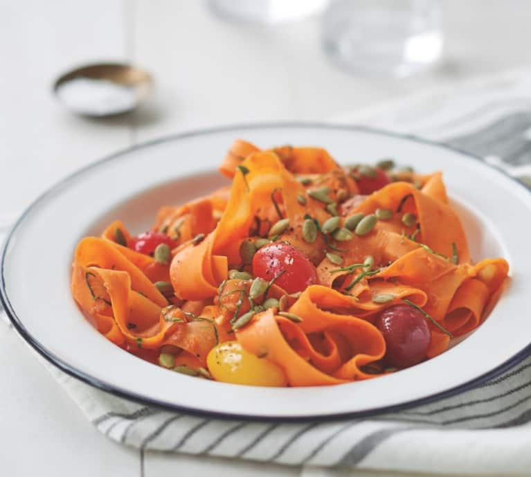 Eat Clean With This Carrot Fettuccine