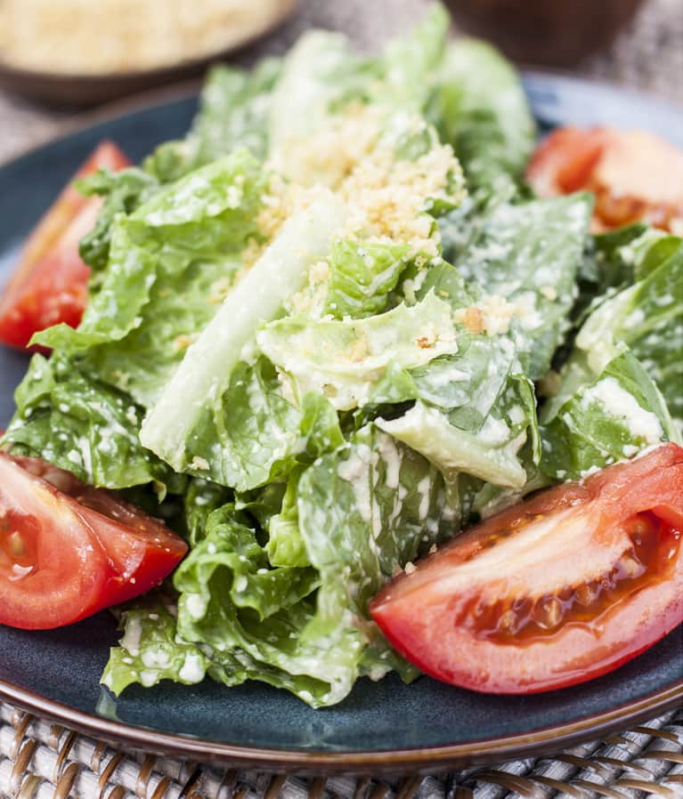 Make This Tonight: A Raw Vegan Caesar Salad That Won't Disappoint