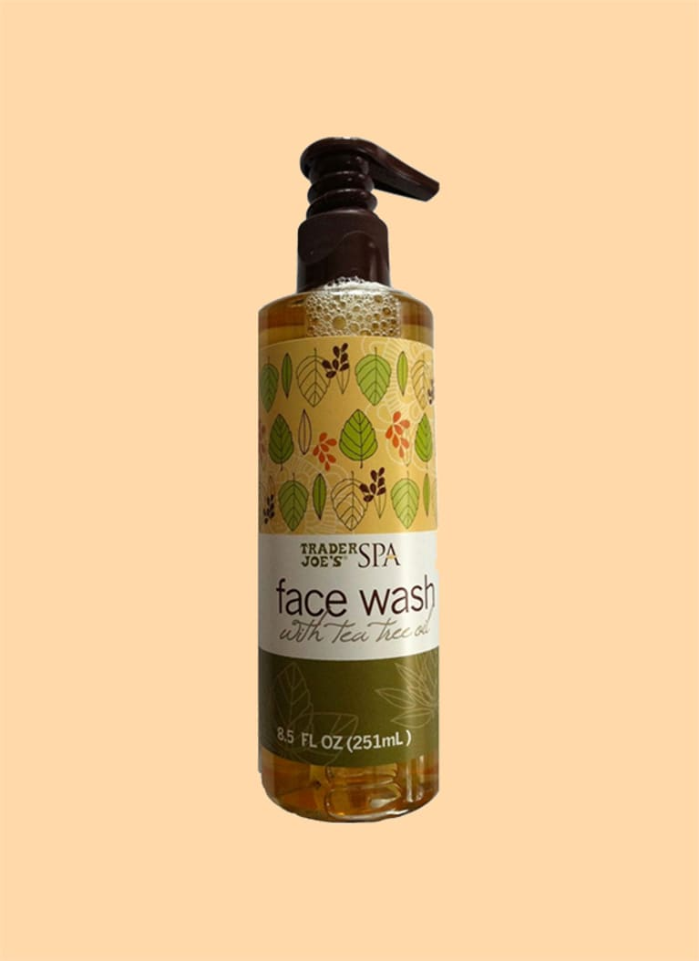 Trader Joe's SPA Face Wash with Tea Tree Oil