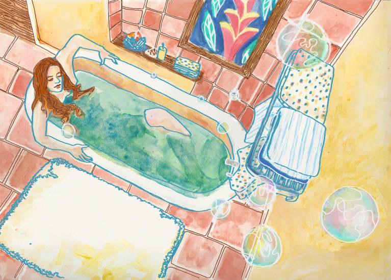 A Ritual Bath For Balancing The Chakras