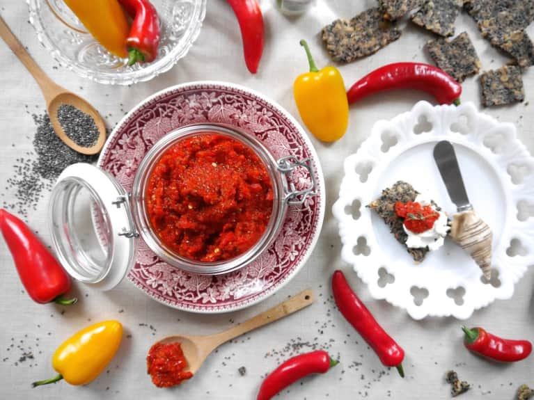Better Than Sriracha: Chia Chili Jam