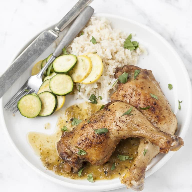 6-Ingredient Slow-Cooker Chicken Verde