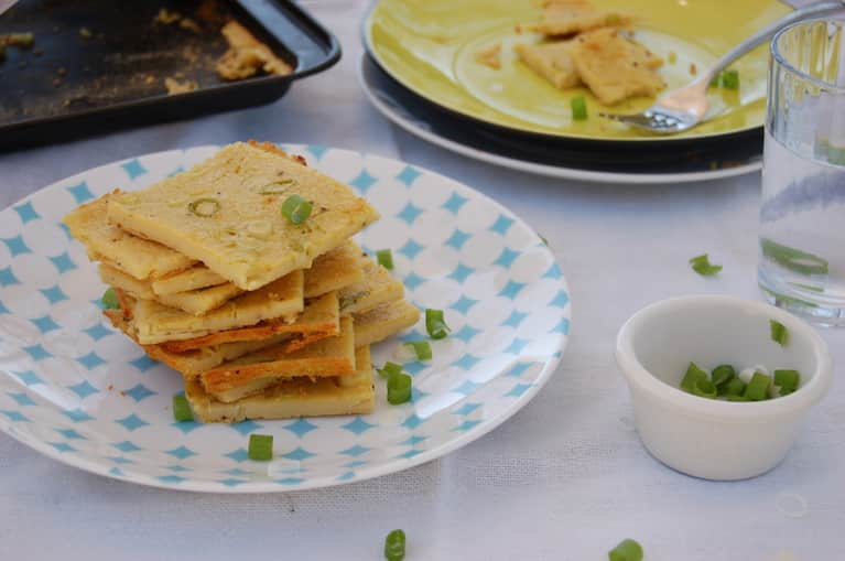 Perfect Vegan Brunch: Savory Chickpea Crepes