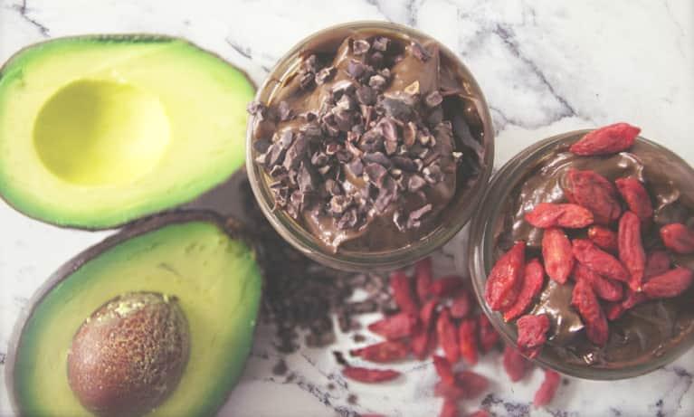 A Decadent Chocolate-Avocado Maca Mousse