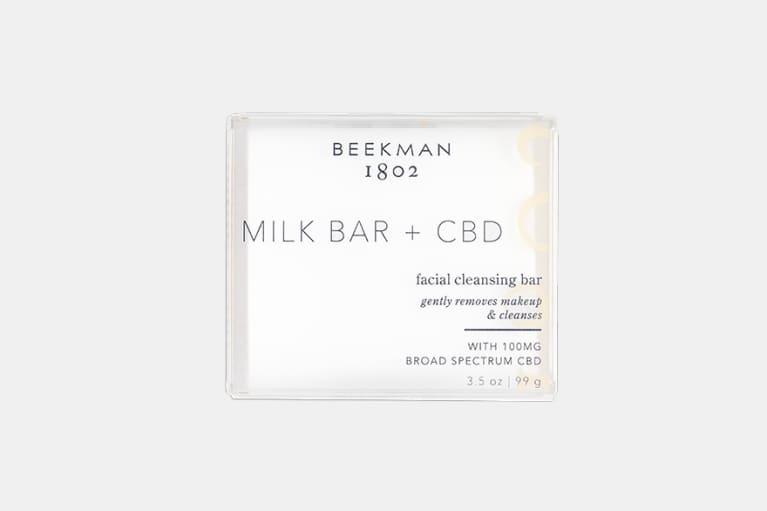 <p>Milk Bar + CBD Facial Cleansing Bar</p>