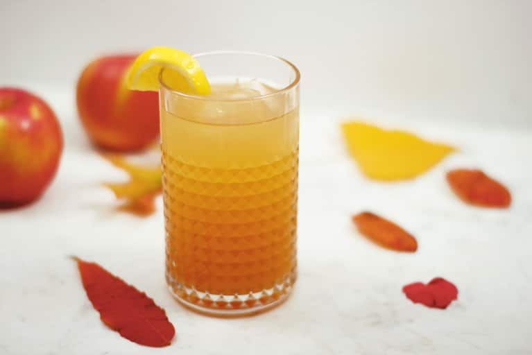 Ginger Cider Spritz That Gets Its Kick From Kombucha