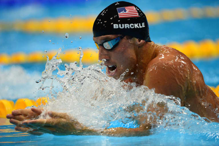 How Olympian Clark Burckle De-Stresses And Stays Happy