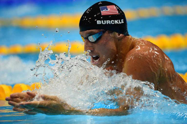 How Olympian Clark Burckle De-Stresses And Stays Happy