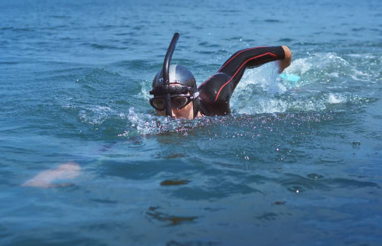 Meet The Man Attempting To Swim Across The Pacific Ocean (For An Incredible Cause)