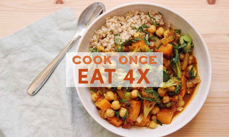 Cook Once, Eat Healthy All Week