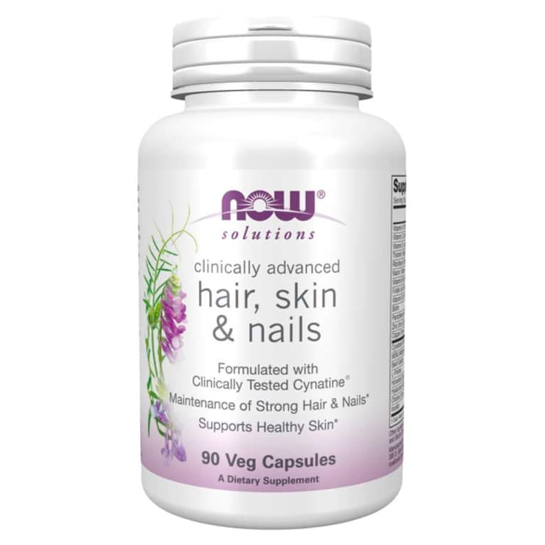 Hair, skin & nails NOW Foods capsules