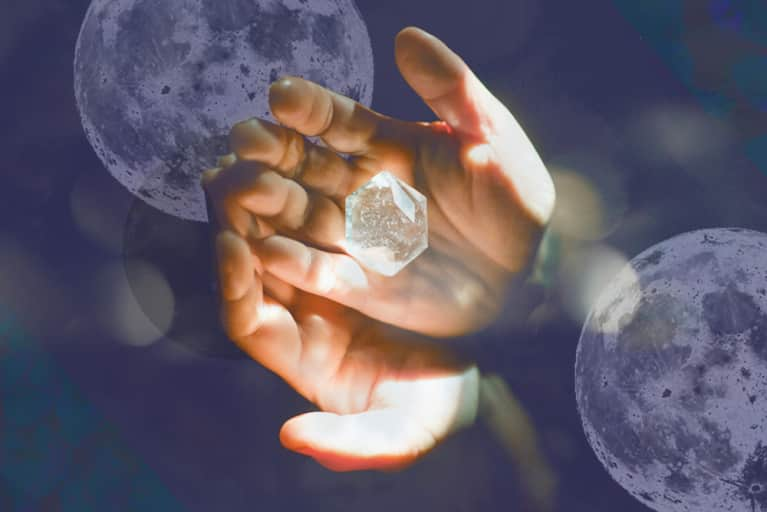 A Full Moon Crystal Ritual For Transcending Negativity