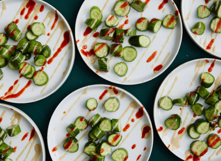 A Cooling Cucumber Salad You'll Want To Make Again & Again