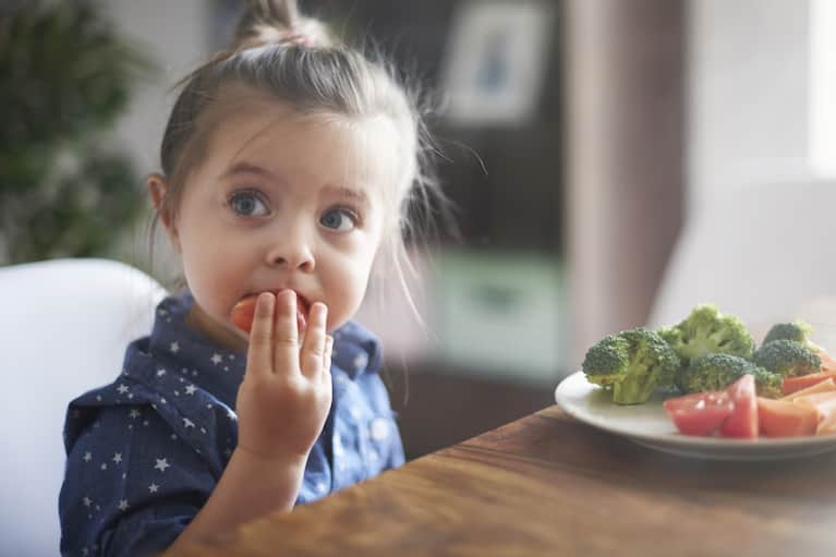 How To Raise A Child Who Eats Healthfully & Mindfully