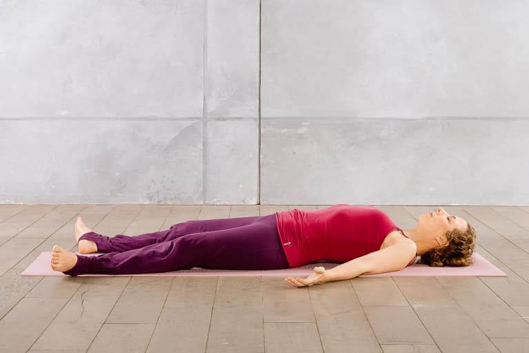 Relaxed Supine Pose