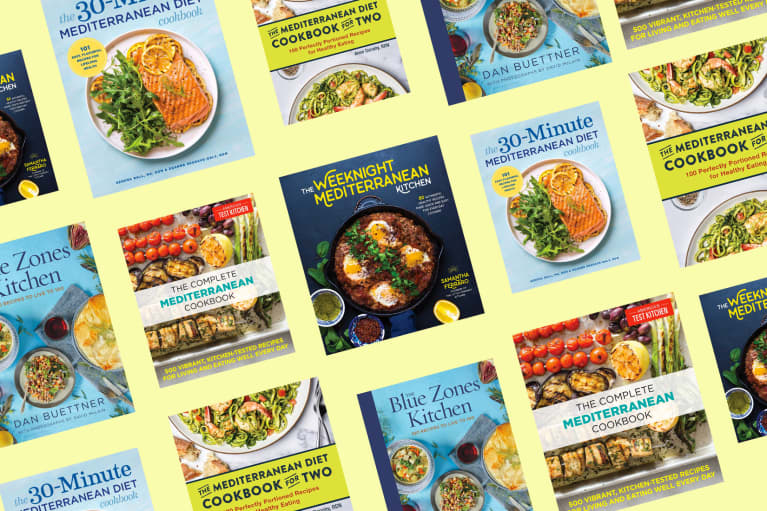 8 Mediterranean Diet Cookbooks That RDs Recommend For Healthy Meal Inspo