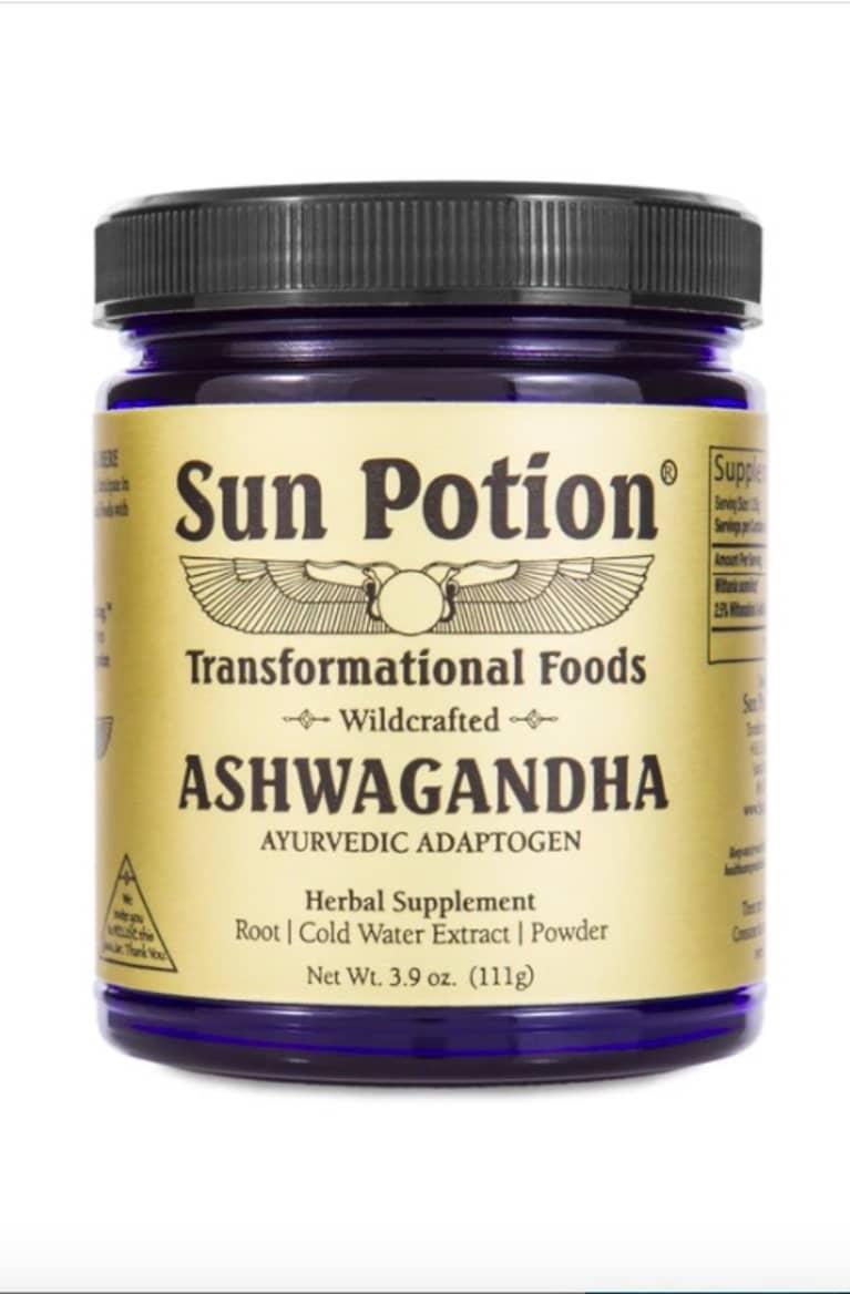 Sun Potion Ashwagandha bottle