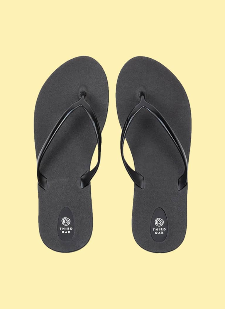 6. Flip-flops that tread lightly.