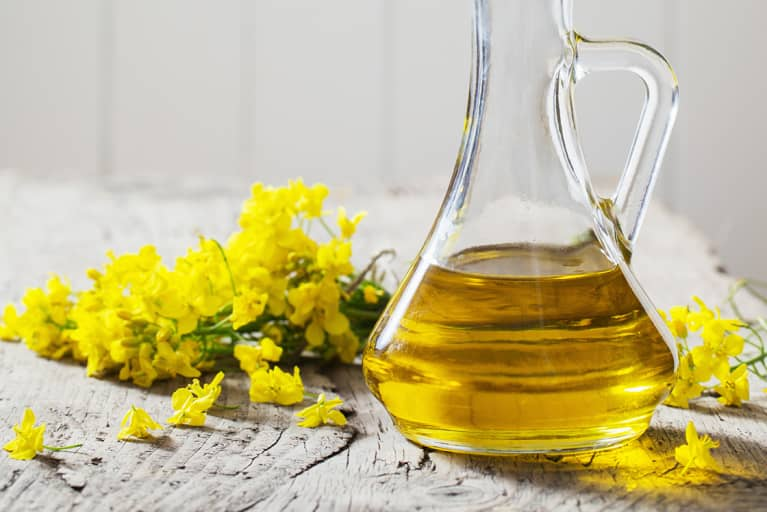 rapeseed oil and low fat diet