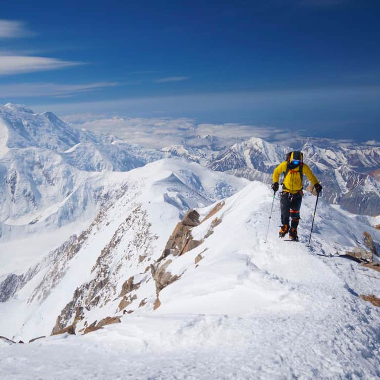 This Adventurer Climbed Everest To Inspire Kids To Follow Their Dreams
