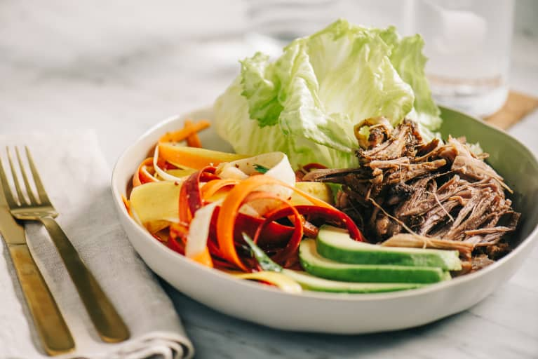 Whole30 Compliant Foods Like Lean Beef and Vegetablees