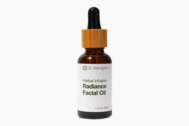 <p>Dr. Wang Herbal Skincare Radiance Facial Oil with Ginseng &amp; Licorice Root&nbsp;</p><p><br></p>
