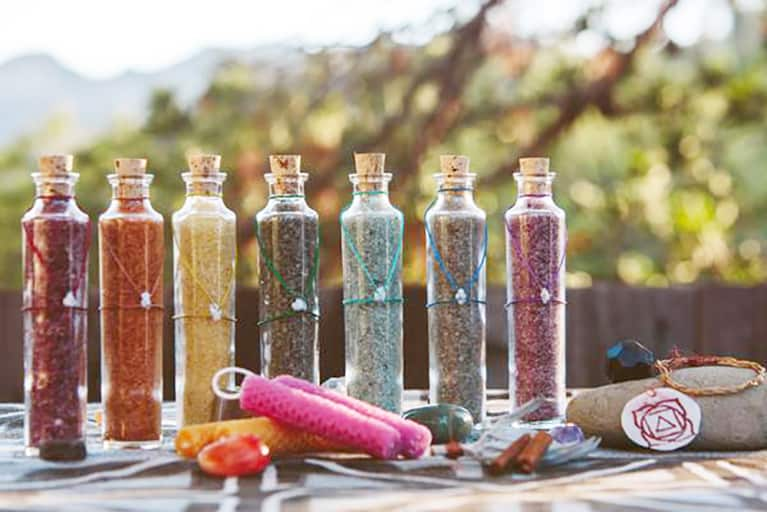 A Gemstone Bath To Balance Your Chakras & Soothe Your Skin
