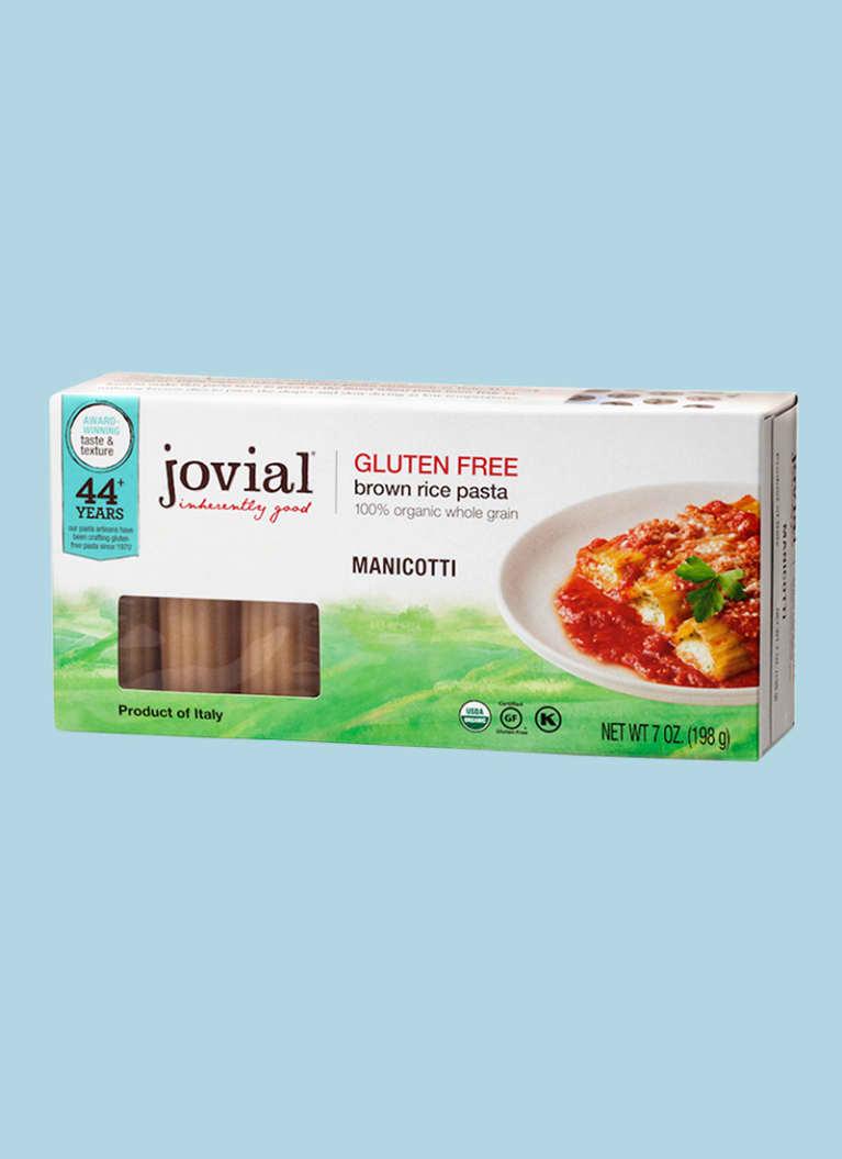 Jovial Manicotti Gluten-Free Pasta