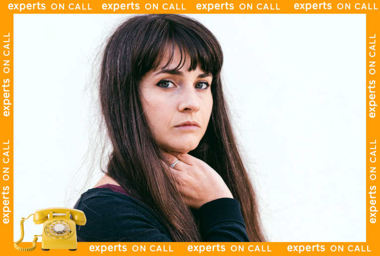 Anxious woman: Experts on Call