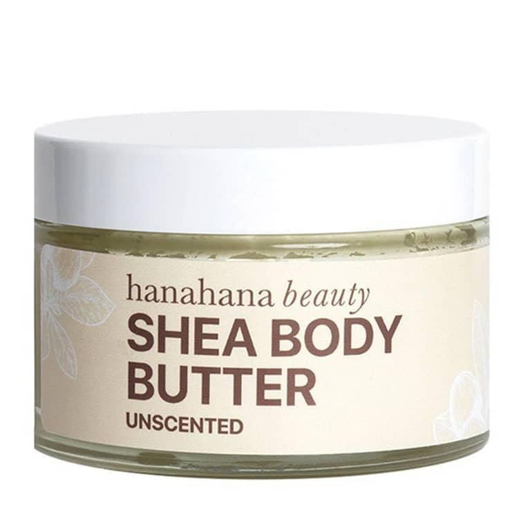 Hanahana Beauty Unscented Shea Body Butter