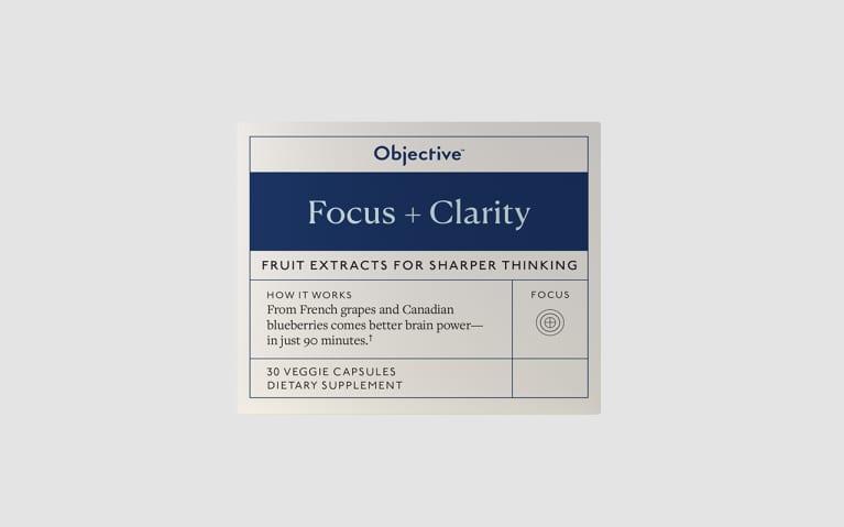 <p>Focus + Clarity</p>