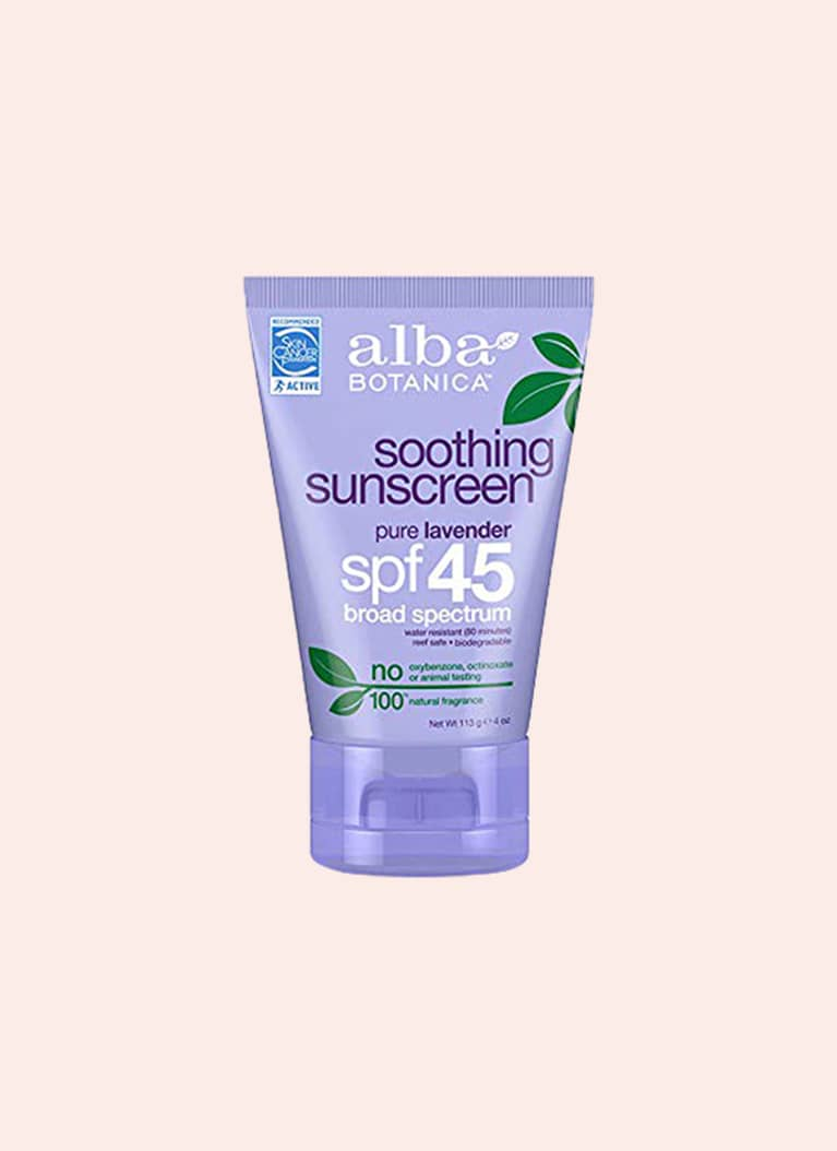 Alba Botanica Soothing Sunscreen Pure Lavender SPF 45