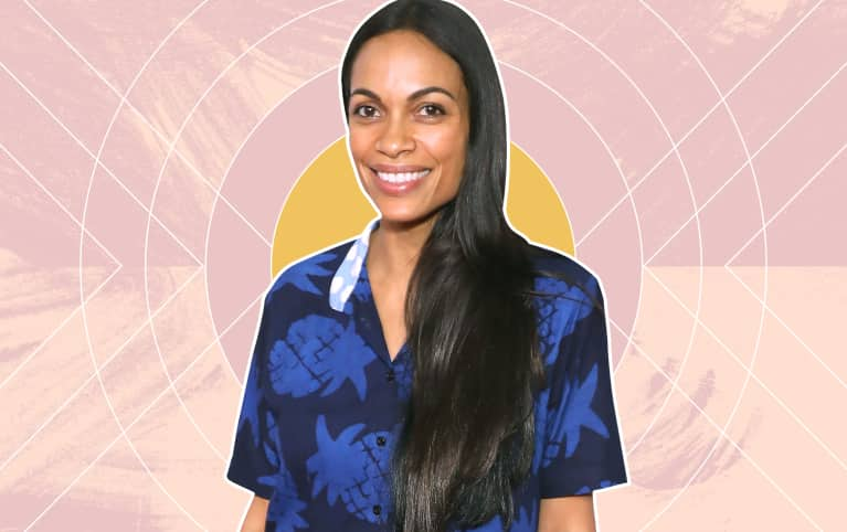 How Rosario Dawson Finds Calm In A Crazy-Busy Life