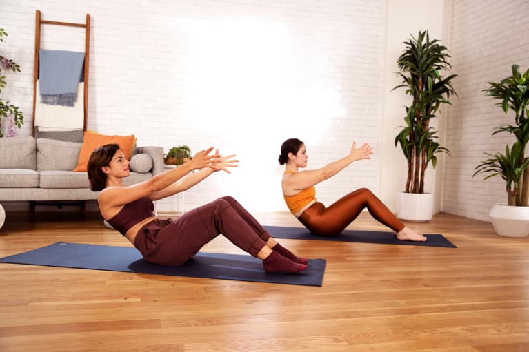 mbg moves: An Intuitive Pilates Routine