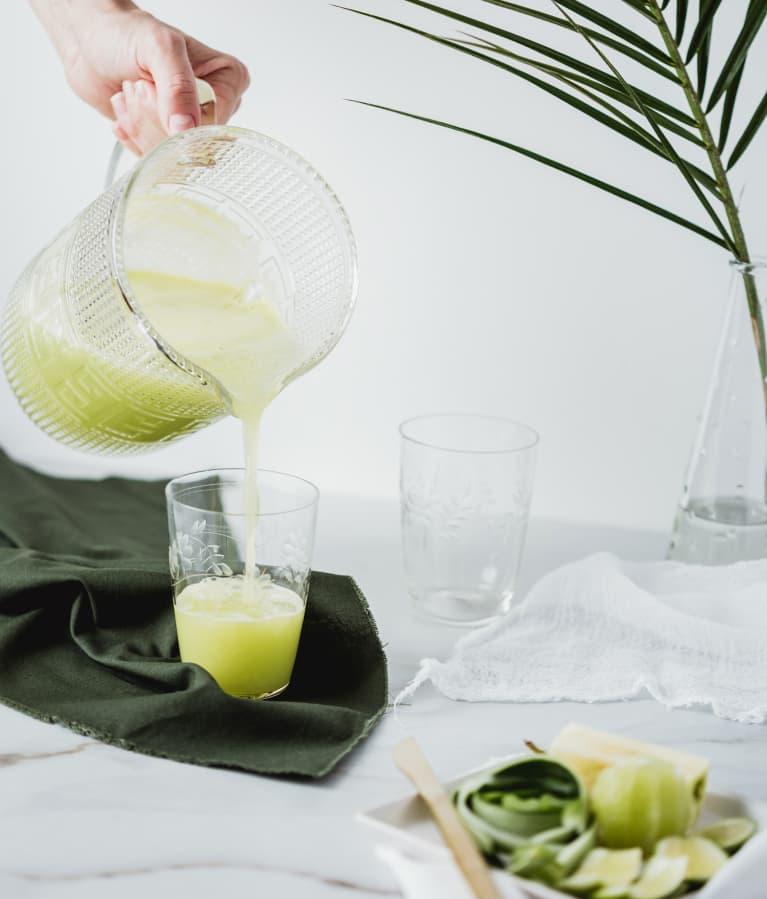 Green veggies juice