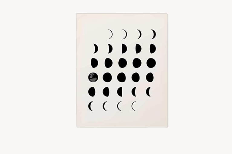 <p>Moon Phases Wall Art</p>